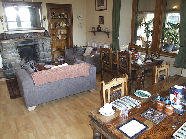 Guests sitting room and breakfast room